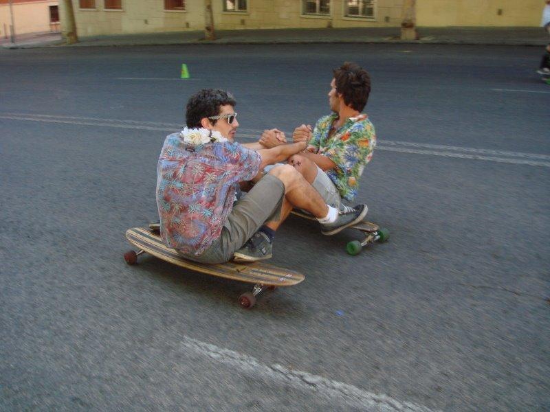 Sesión de Surf en Vallecas