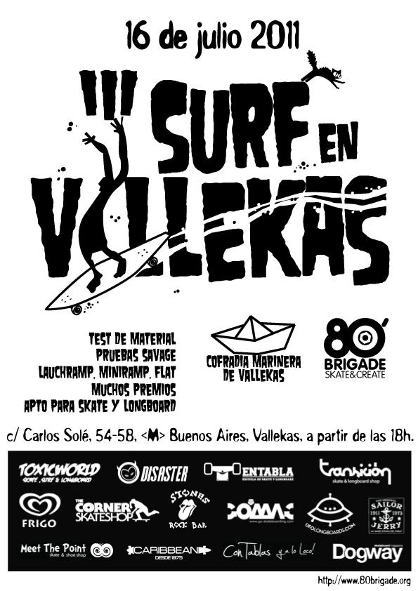 Surf en Vallekas 2011