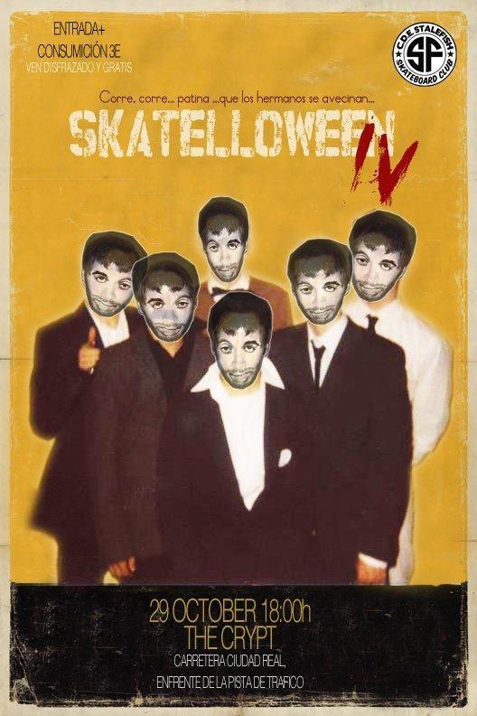 Skatelloween en la Cripta