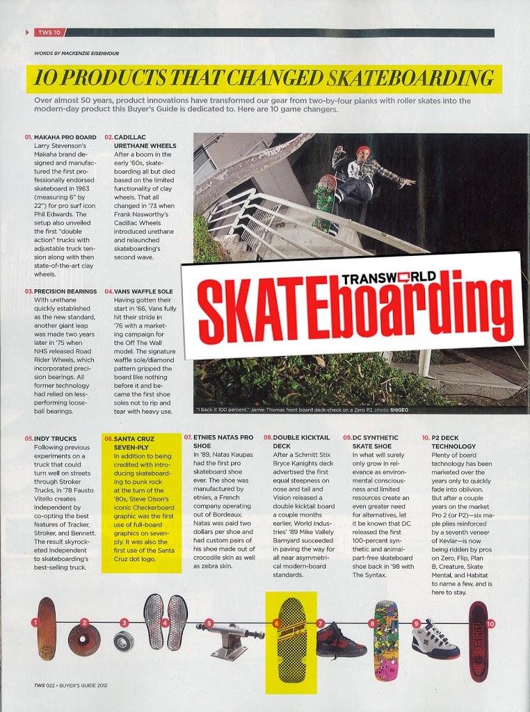 10 productos que han revolucionado el skate