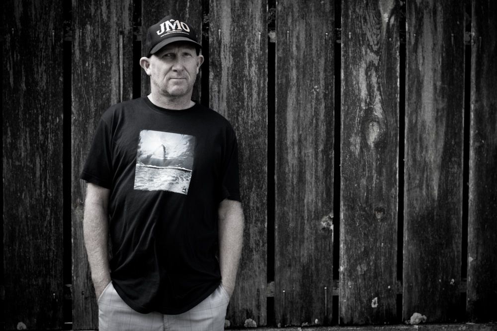 Portrait - Stephen Bell - Belly - Quiksilver Surf Team Manager - Hawaii December 2011