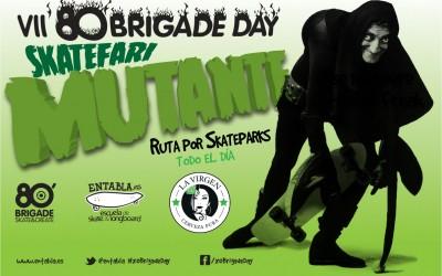 80 Brigade Day Skatefari Mutante