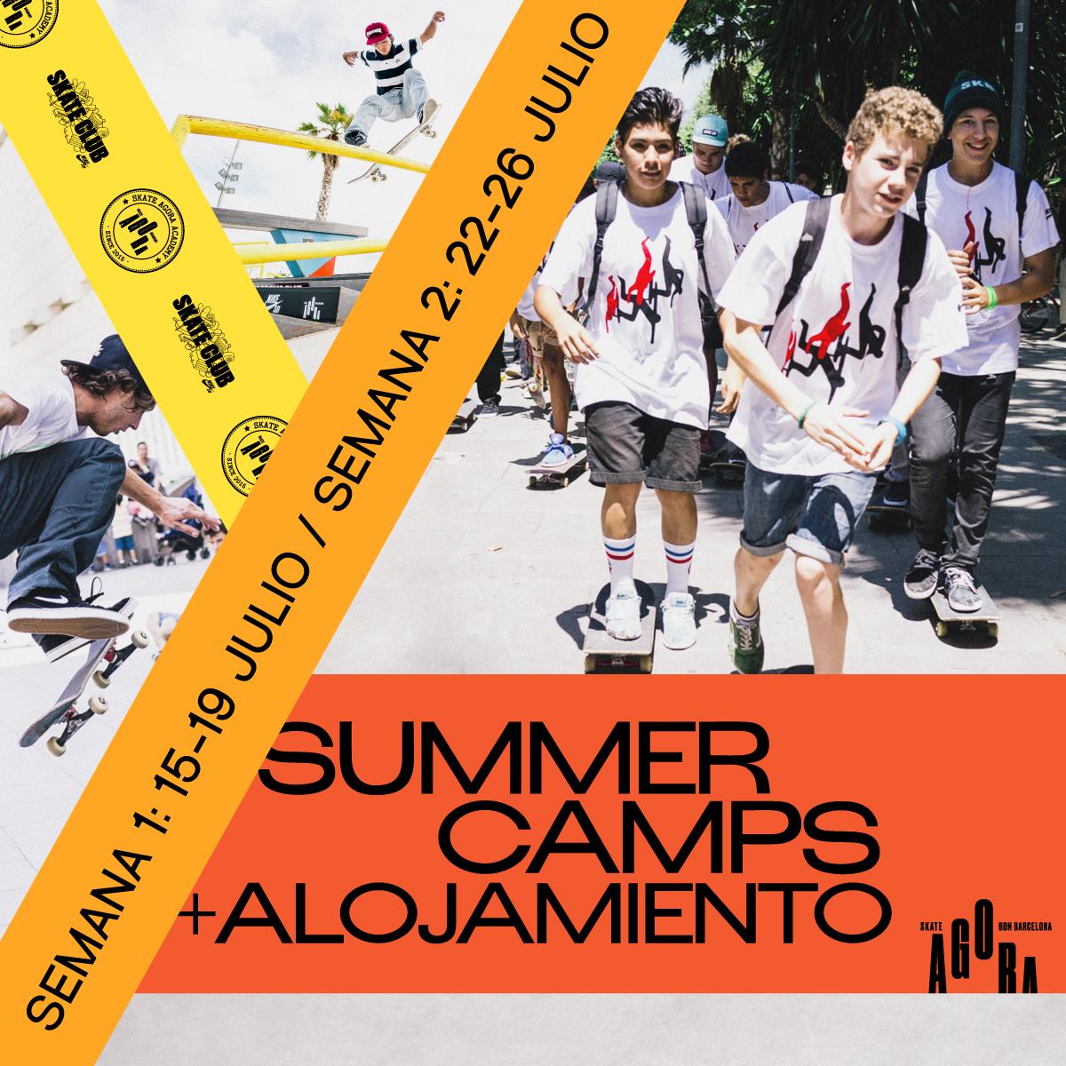 Skatecamp en Barcelona
