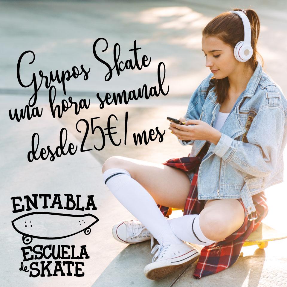 Extraescolar skate curso 2019-2020