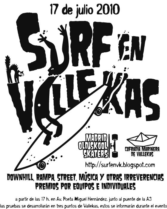 Cartel Provisional, Surf en Vallekas