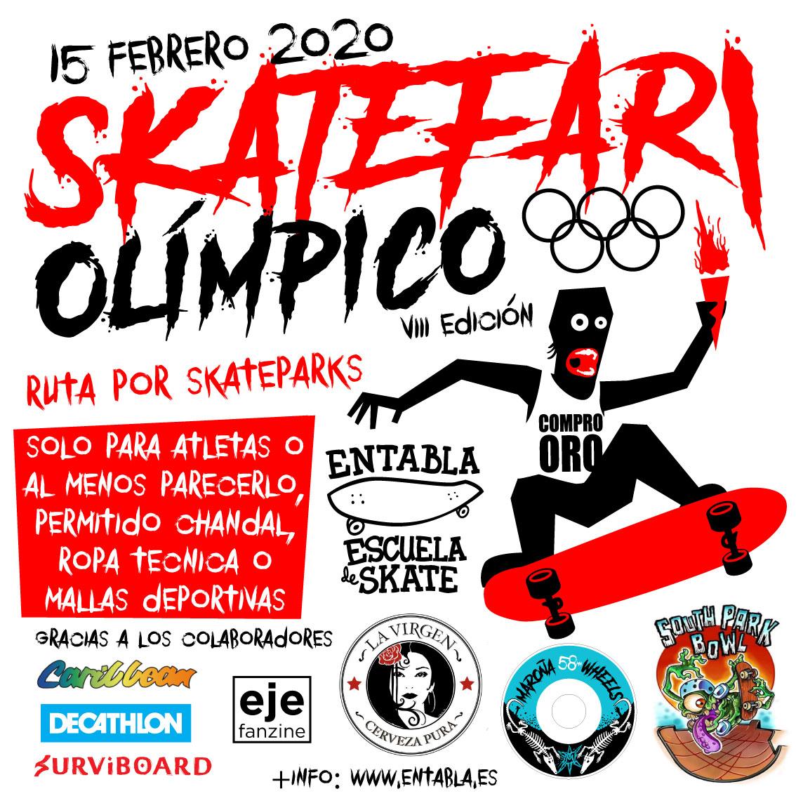 Skatefari olímpico