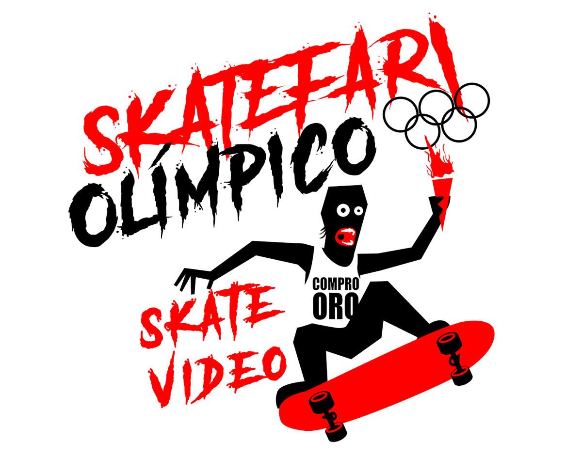 Skatefari olímpico vídeo