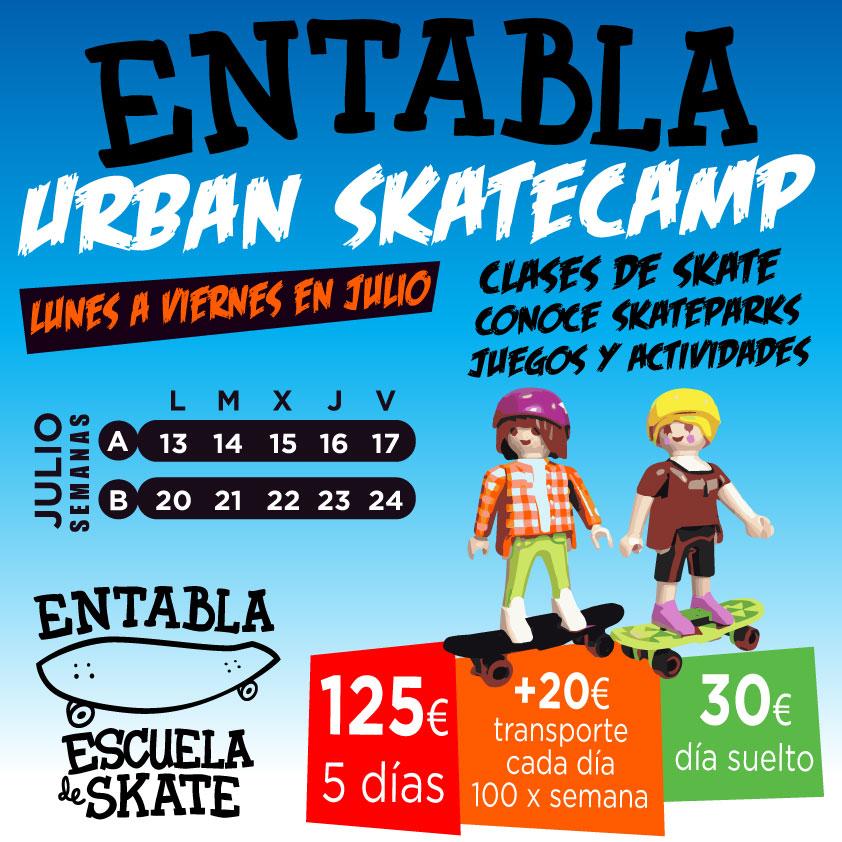 Entabla urban skatecamp